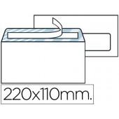 Envelope din americano 110x220mm com janela direita