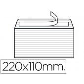 Envelope verjurado 110x220mm s/janela branco