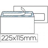 Envelope americano 115x225mm com janela direita