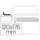 Envelope liderpapel n 9 branco comercial normalizado 120x176 mm tira de silicone embalagem de 25 unidades