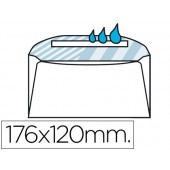 Envelope normalizado 120x176mm s/janela