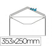 Envelope folio prolongado 250x353mm s/janela