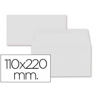 Envelope liderpapel americano branco 110x220 mm 80 gr -pack de 9 unidades