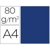 Papel de cor liderpapel din a4 80 gr azul escuro -pack de 15 folhas
