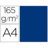 Papel de cor liderpapel din a4 165g / m2 azul escuro embalagem de 9