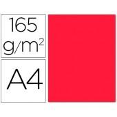 Papel de cor liderpapel din a4 165 gr vermelho palido -pack de 9 folhas