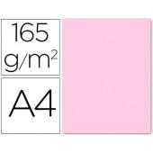 Papel de cor liderpapel din a4 165 gr rosa palido -pack 9 folhas