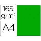 Papel de cor liderpapel din a4 165 gr verde -pack de 9 folhas