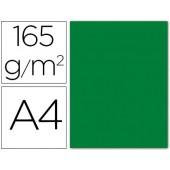 Papel de cor liderpapel din a4 165 gr verde acebo -pack de 9 folhas