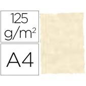 Papel pergamino din a4 troquelado 125 gr pele elefante cor osso embalagem de 25 folhas