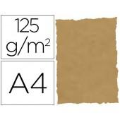 Papel pergamino din a4 troquelado 125 gr pele elefante cor pergamino embalagem de 25 folhas