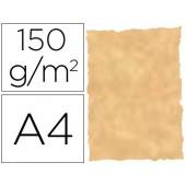 Papel pergamino din a4 troquelado 150 gr cor parchment ocre embalagem de 25 folhas