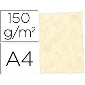 Papel pergamino din a4 troquelado 150 gr cor parchment topacio embalagem de 25 folhas
