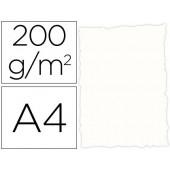 Papel pergamino din a4 troquelado 200 gr cor rustico branco embalagem de 25 folhas