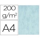 Cartolina marmoreada din a4 200 gr cor azul embalagem de 100 folhas
