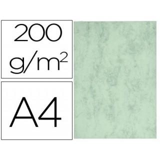 Cartolina marmoreada din a4 200 gr cor verde embalagem de 100 folhas