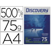 Papel fotocopia discovery.a4. emb. 500 fls. 75 grs
