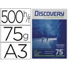 Papel fotocopia discovery.a3. emb. 500 fls. 75 grs