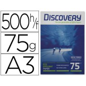 Papel fotocopia discovery.a3. emb. 500 fls. 75 grs