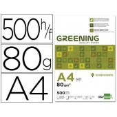 Papel fotocopia greening a4. emb. 500 folhas. 80 grs