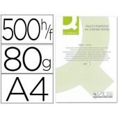 Papel fotocopia q-connect. a4. emb. 500 folhas. 80 grs