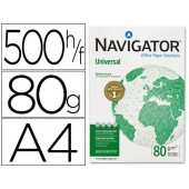 Papel fotocopia navigator. a4. emb. 500 folhas. 80 grs