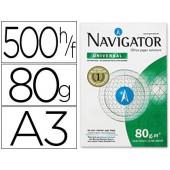Papel fotocopia navigator. a3. emb. 500 folhas. 80 grs