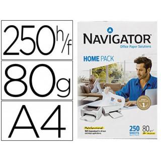 Papel fotocopia navigator home pack din a480 gramas embalagem de 250 folhas