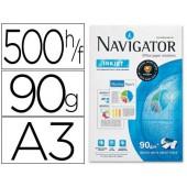 Papel fotocopia navigator. a3. emb. 500 folhas. 90 grs