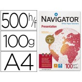 Papel fotocopia navigator. a4. emb. 500 folhas. 100 grs