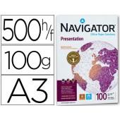 Papel fotocopia navigatora3 emb. 500 folhas 100 grs
