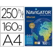 Papel fotocopia navigator. a4. emb. 250 folhas. 160 grs