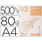 Papel fotocopia iq premium din a4 80 gramas embalagem de 500 folhas