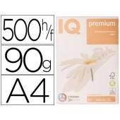 Papel fotocopia iq premium din a4 90 gramas embalagem de 500 folhas