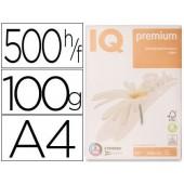 Papel fotocopia iq premium din a4 100 gramas embalagem de 500 folhas