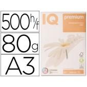 Papel fotocopia iq premium din a3 80 gramas embalagem de 500 folhas