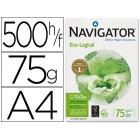 Papel fotocopia navigator. a4. emb. 500 folhas. 75 grs