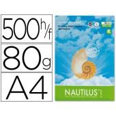 Papel fotocopia nautilus. a4. emb. 500 folhas. 80 grs