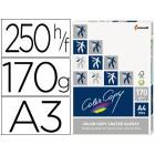 Papel color copy glossy din a3 170 gramas pack de 250 folhas