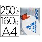 Papel fotocopia clairefontaine din a4160 gramas embalagem de 250 folhas