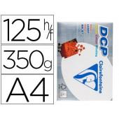 Papel fotocopia clairefontaine din a4350 gramas embalagem de 125 folhas