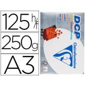 Papel fotocopia clairefontaine din a3250 gramas embalagem de 125 folhas