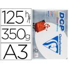 Papel fotocopia clairefontaine din a3350 gramas embalagem de 125 folhas