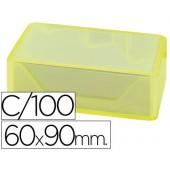 Cartoes de visita em caixa com100. 250 grs/mì. 95x60 mm