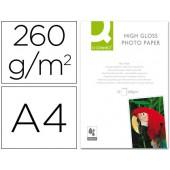 Papel foto glossy tinteiro. a4 - 260 grs. caixa de 50 folhas