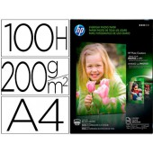 Papel hp photo semi-glossy -170g/m2- -a4- -100 folhas