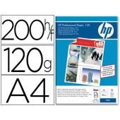 Papel hp premium tinteiro coated 100grs. a4. 200 folhas