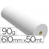 Papel reprografia 90 grs. 610 mm x 50 mts