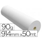 Papel reprografia 90 grs. 914 mm x 50 mts