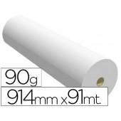 Papel reprografia navigator para plotter quality bobina 610x91 mt 90 grs impresion de lineas y color